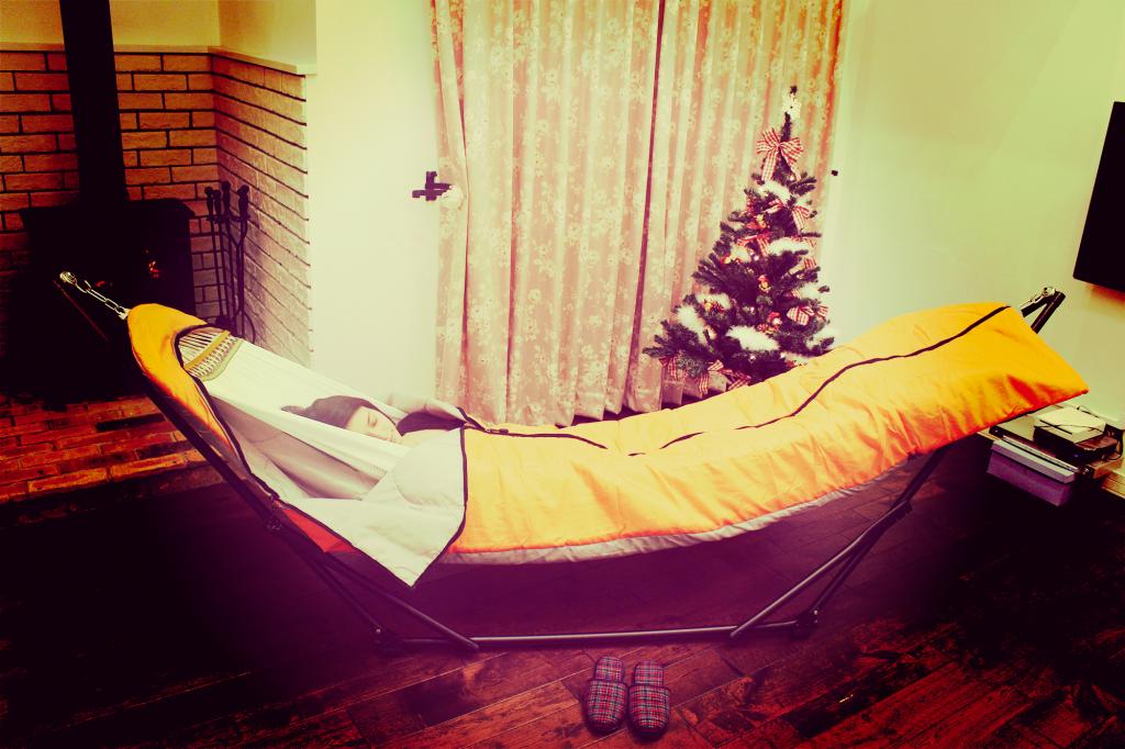ハンモック寝袋