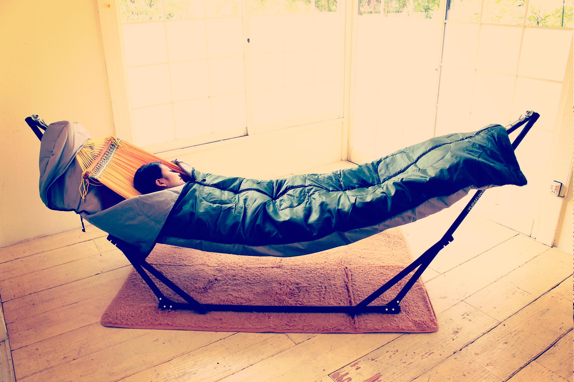 ハンモック用寝袋